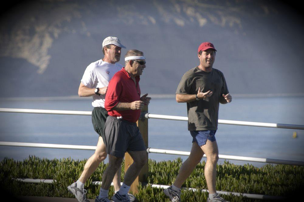 физическая нагрузка бег