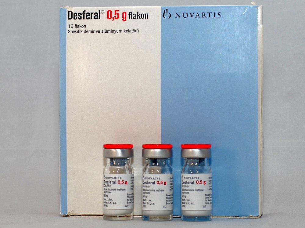 инъекции препарата десферал