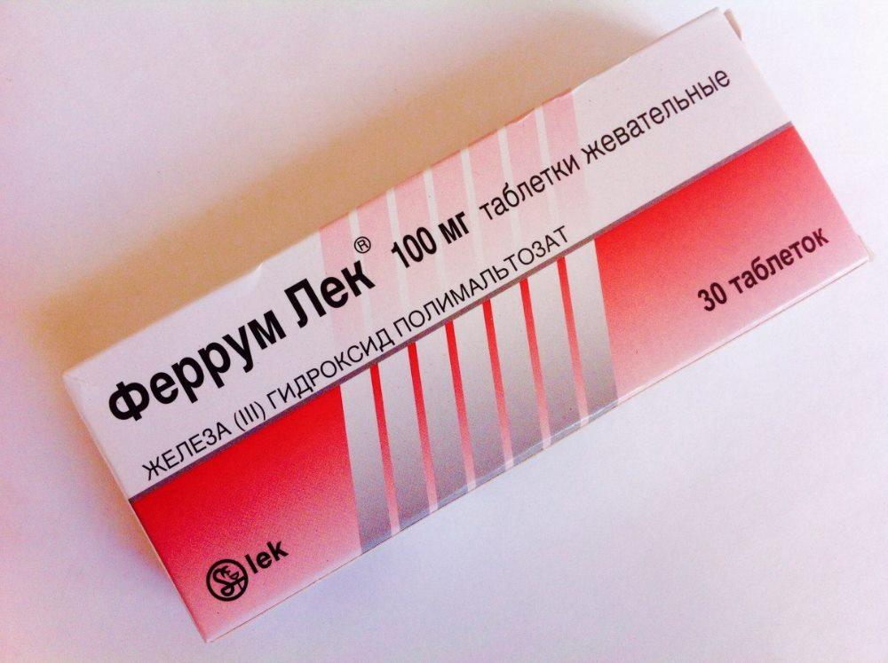 прием феррум лек при анемии