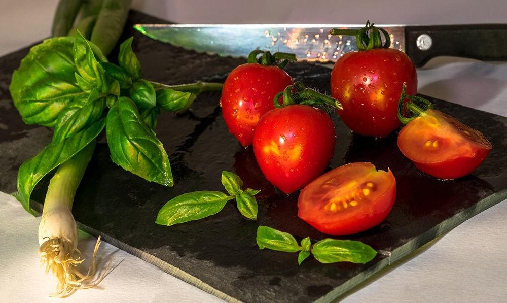 Свежие овощи в рационе