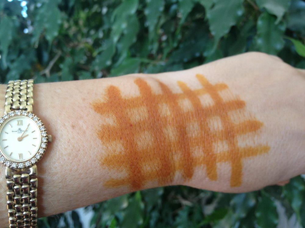 сеточка из йода на руке