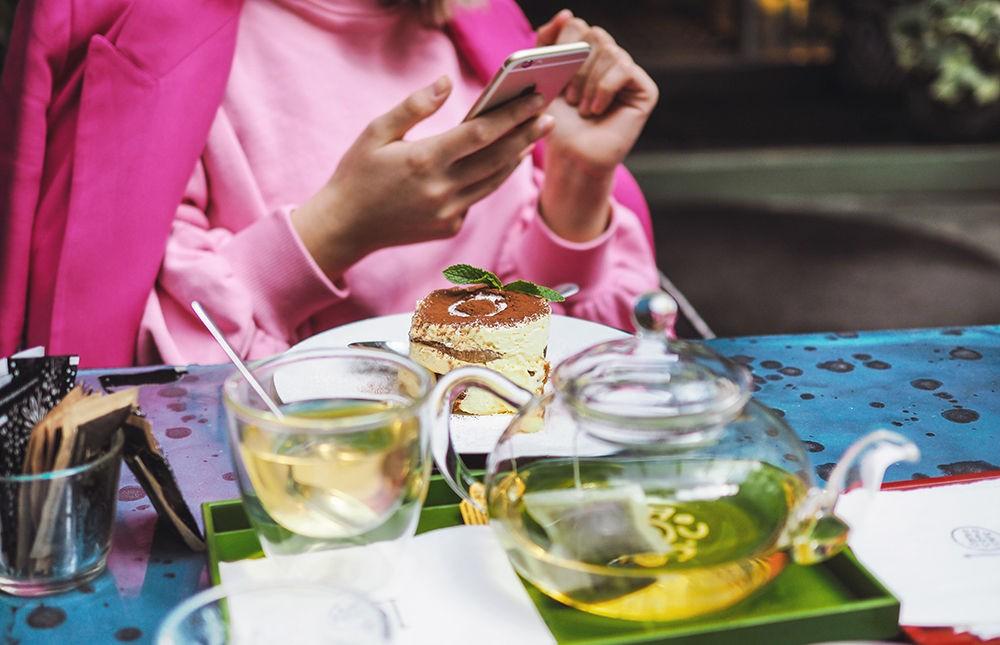 Травяной чай с мятой