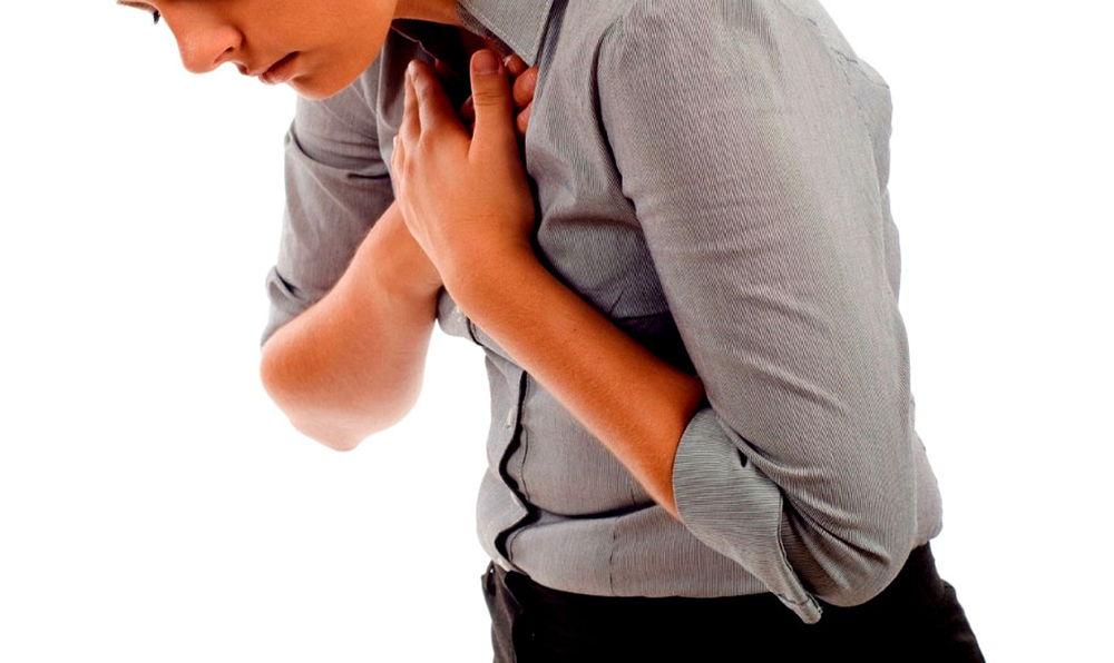 Боль и нехватка воздуха