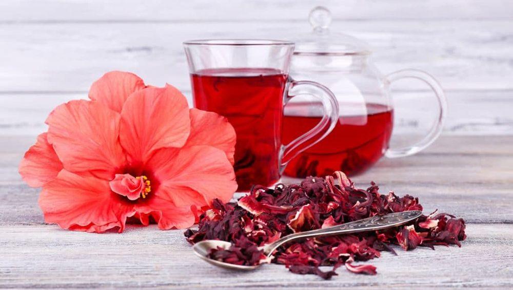 Чай с каркадэ