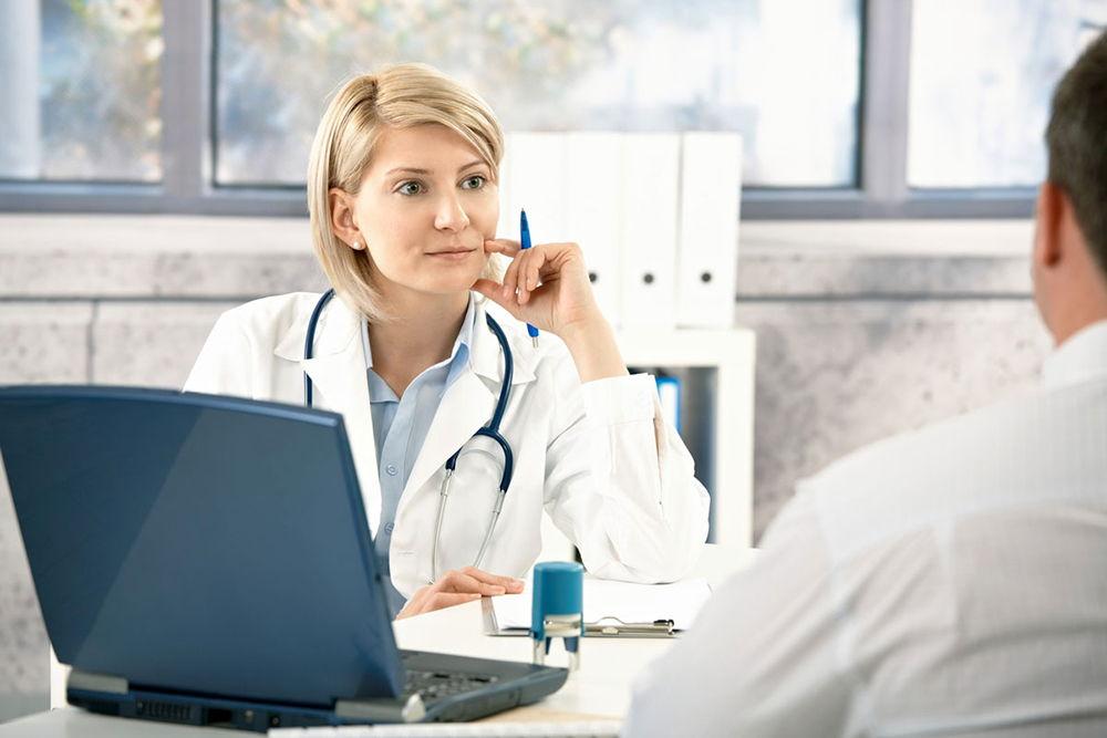 Осмотр и консультация врача