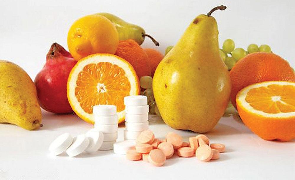 Замена витаминов препаратами