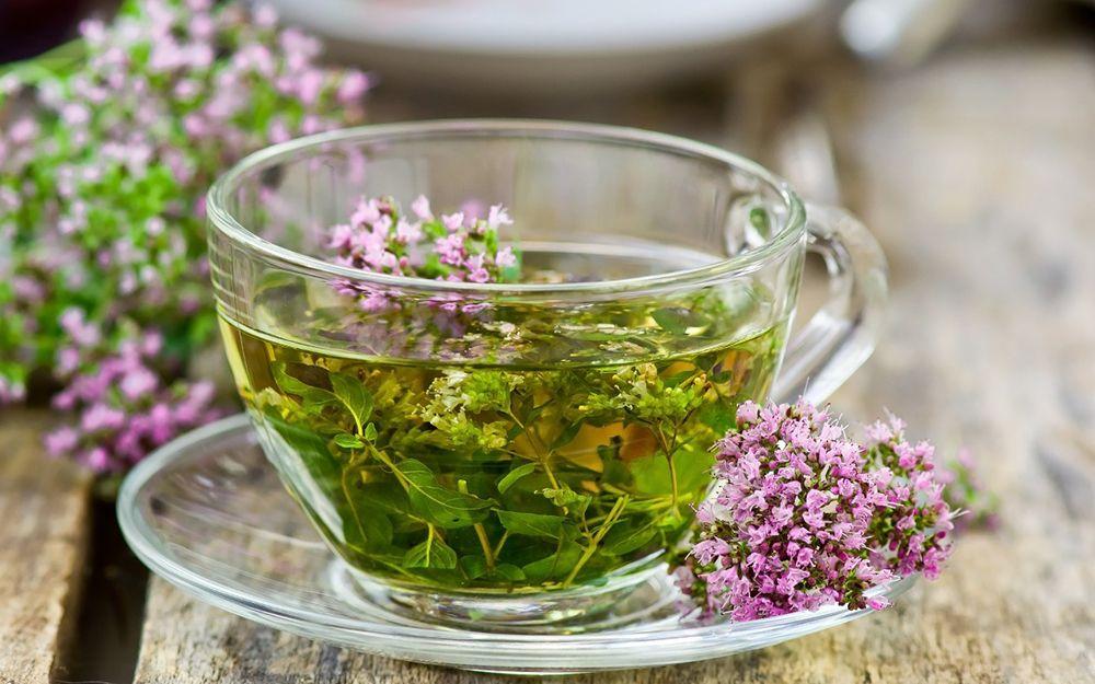 Употребление травяного чая