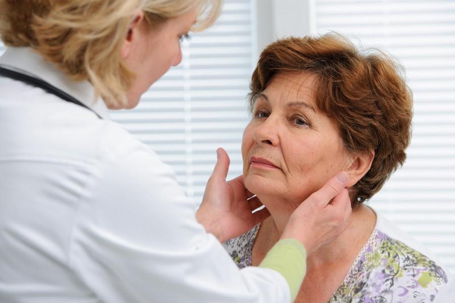 Диагностика воспаления подчелюстных лимфоузлов