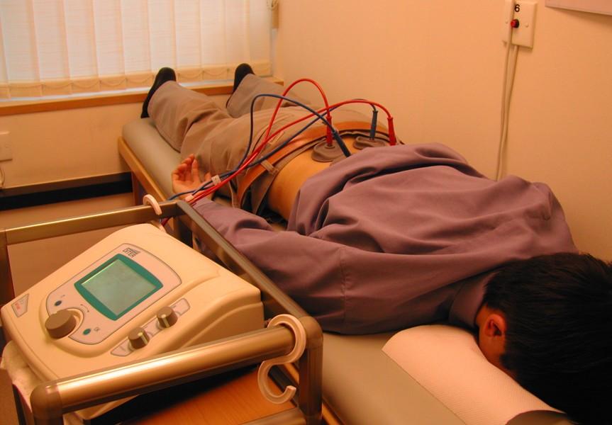 Физиотерапевтическая процедура электрофорез