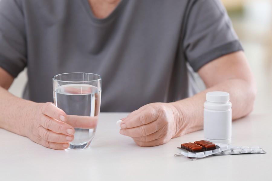 Прием лекарственных препаратов пациентом