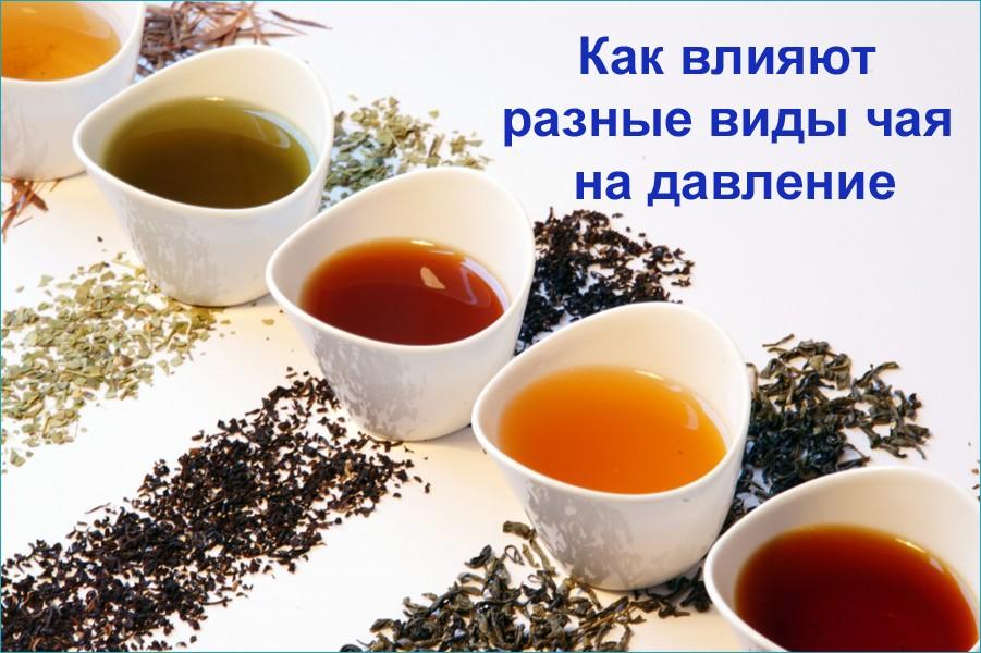 Влияние чая на давление