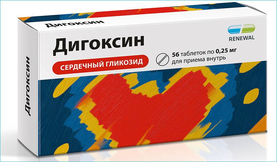 Лекарственный препарат Дигоксин