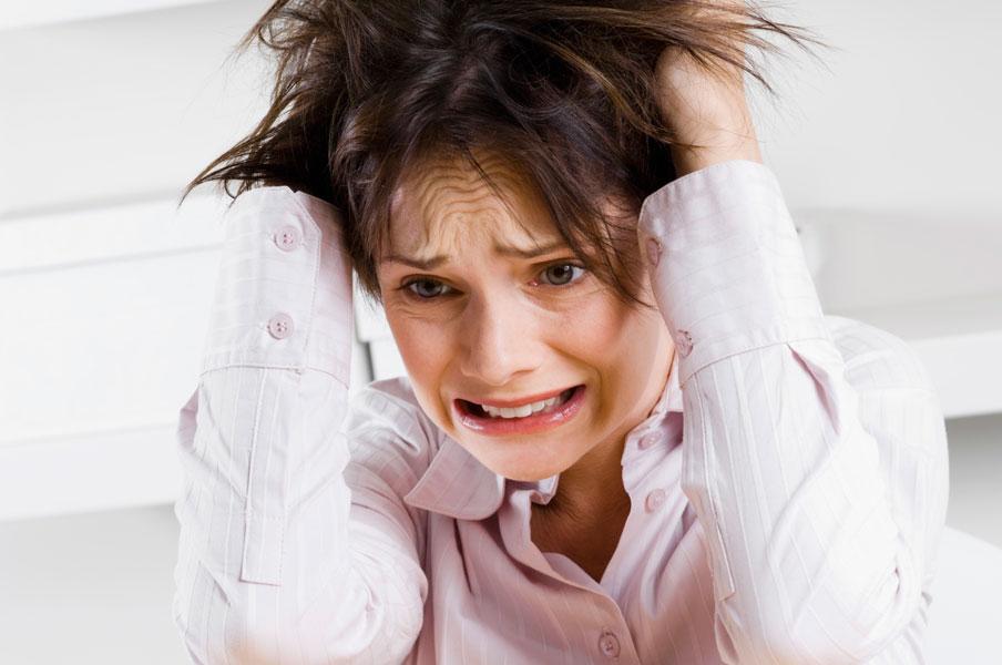 Стресс на экзамене