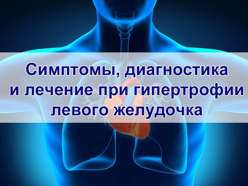 Лечение при гипертрофии левого желудочка
