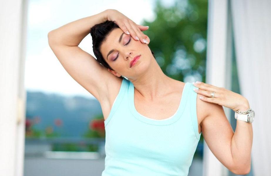 Упражнения для шеи и головы