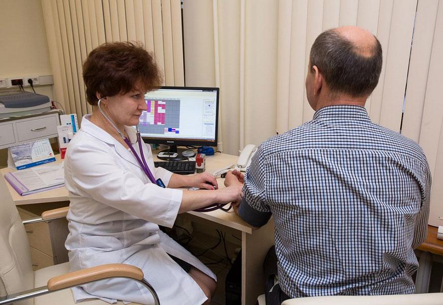 Первичный прием врача кардиолога