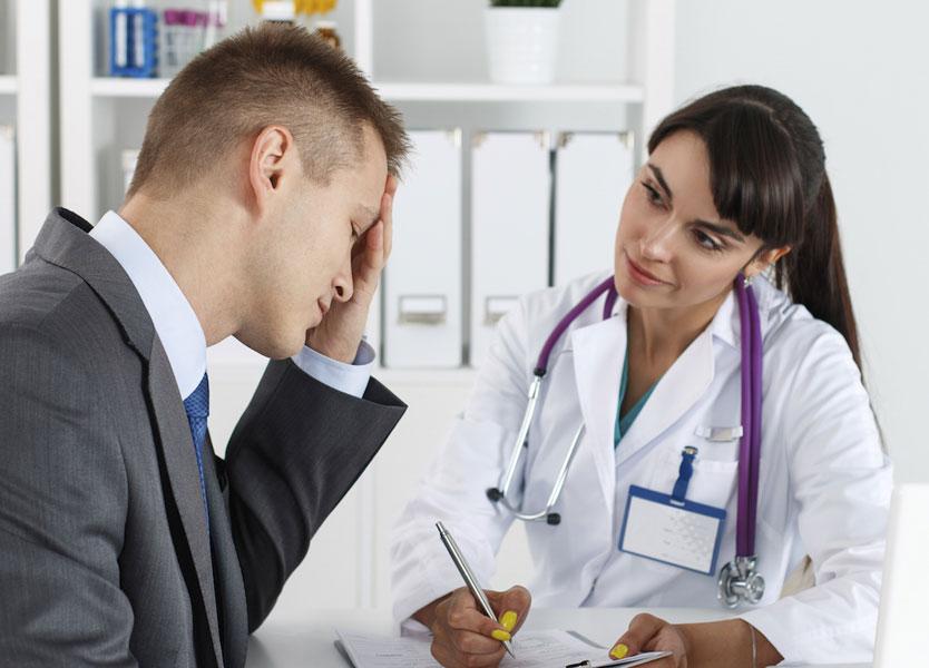 Постановка диагноза врачом