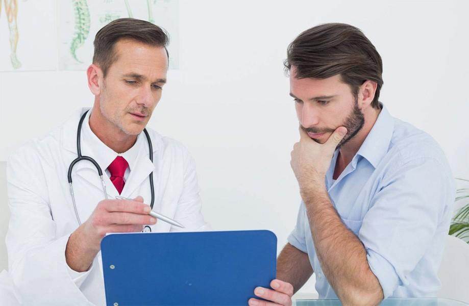 Обследование у врача на инфекции