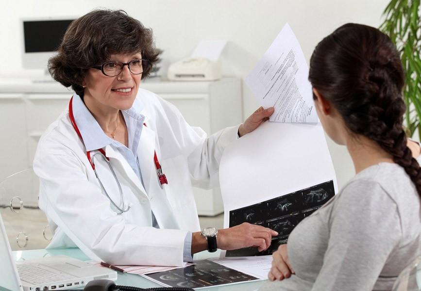 Прием врача при беременности