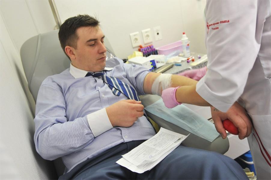 Забор крови на биохимию