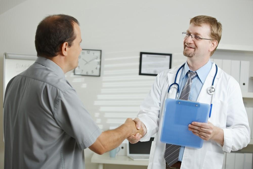 Пройти обследование у врача