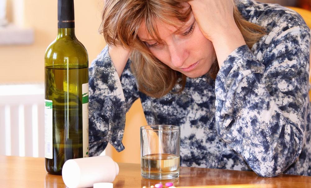 Интоксикация алкогольными напитками