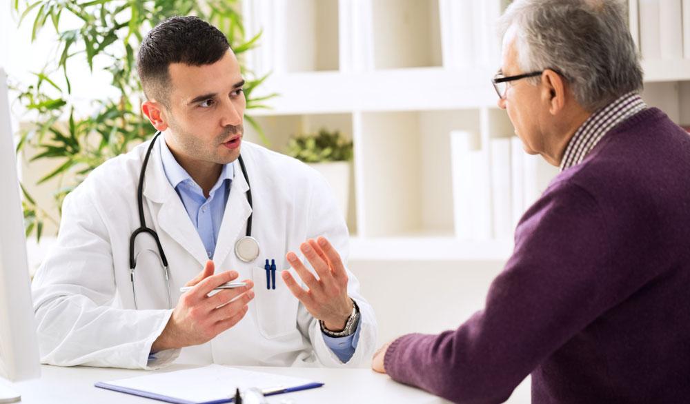 Посещение врача терапевта для консультации