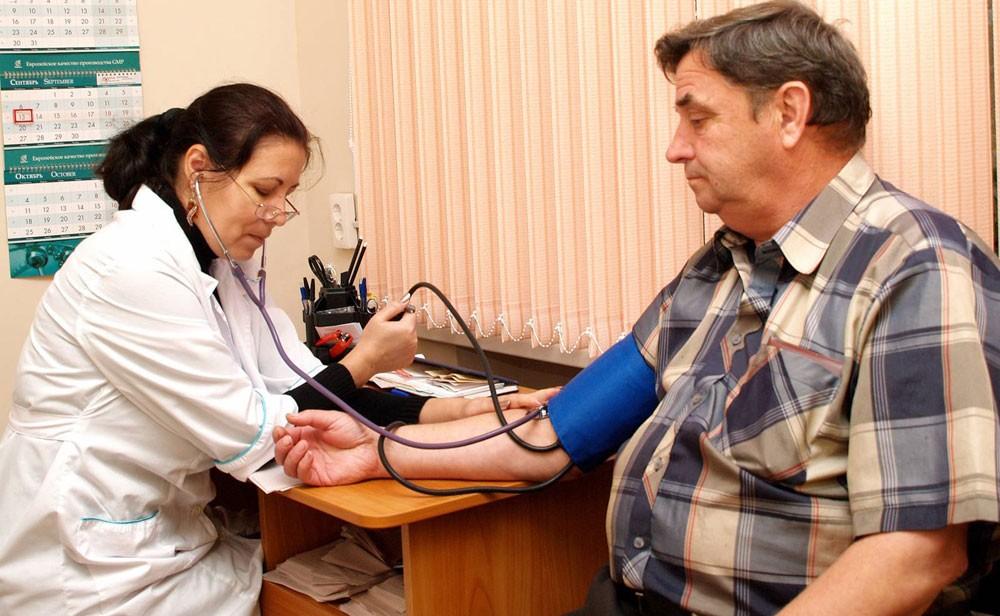 Прием врача кардиолога в поликлинике