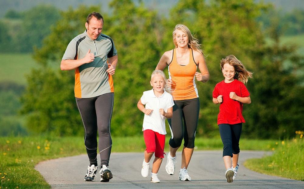 Активный образ жизни пробежка