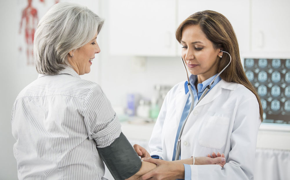 Гипертония у женщины