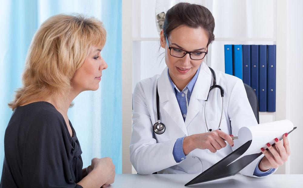 Посещение врача гематолога